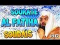 Sourate Al fatiha Soudais Sudais Arabe et VOSTFR écouter le coran surah al fatiha sudais