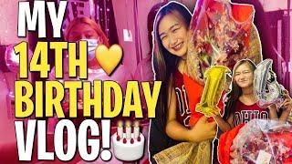 My 14th Birthday Vlog (Aug 4) || Stephany Faith
