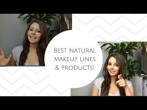Best Natural Makeup  2018 // Best Green Beauty Makeup Products