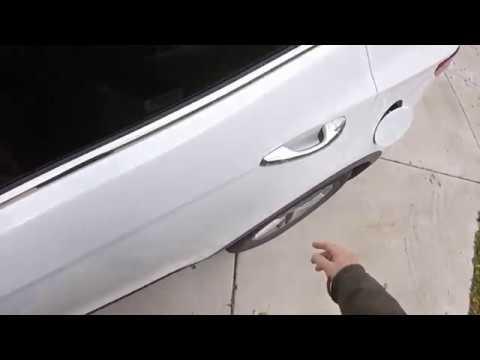 How To Open Gas Door 2018 Hyundai Santa Fe Both Methods