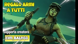 "Fortnite Live Monday of Give waiting for the birthday llamas ""BIGLIETTINI"" Creator CIM_BALD88"