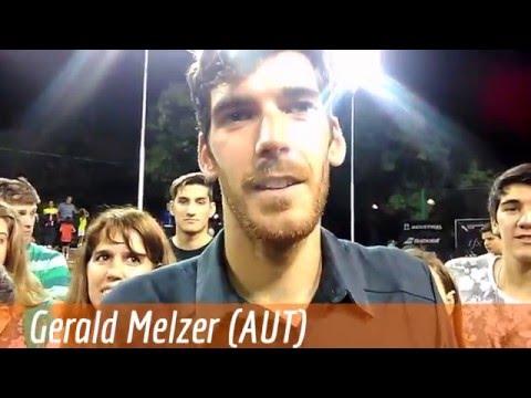 Gerald Melzer, ATP Challenger Mendoza 2016 (d. A.Michon 46 64 60)