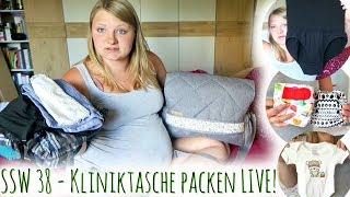 Ambulante Geburt | Ich packe meine Kliniktasche | Familienvlog #113