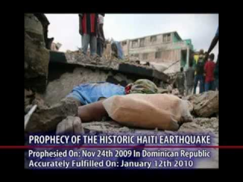 Prophecy of Earthquakes in the western hemisphere Fulfilled - Dr. Owuor