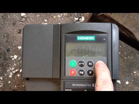 Siemens 420 2.2kW - error F0085