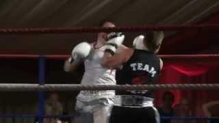 White Collar Fight Club Naomi Weir v Charlie Hann