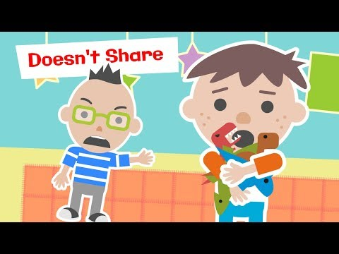Learn To Share, Roys Bedoys! Sharing Is Caring - Read Aloud Children's Books