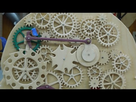 Gear Head Part 2 - Construction & Spring Motor