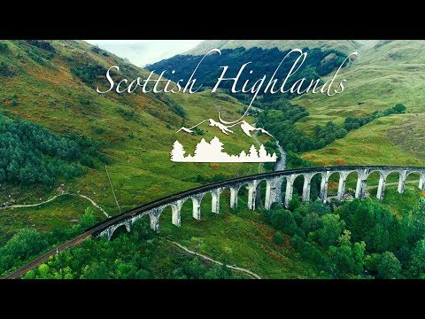 The Scottish Highlands / Isle of Skye 4K Drone Video