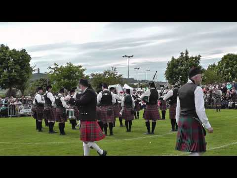 Ards 2014 - Pipes & Drums of the PSNI