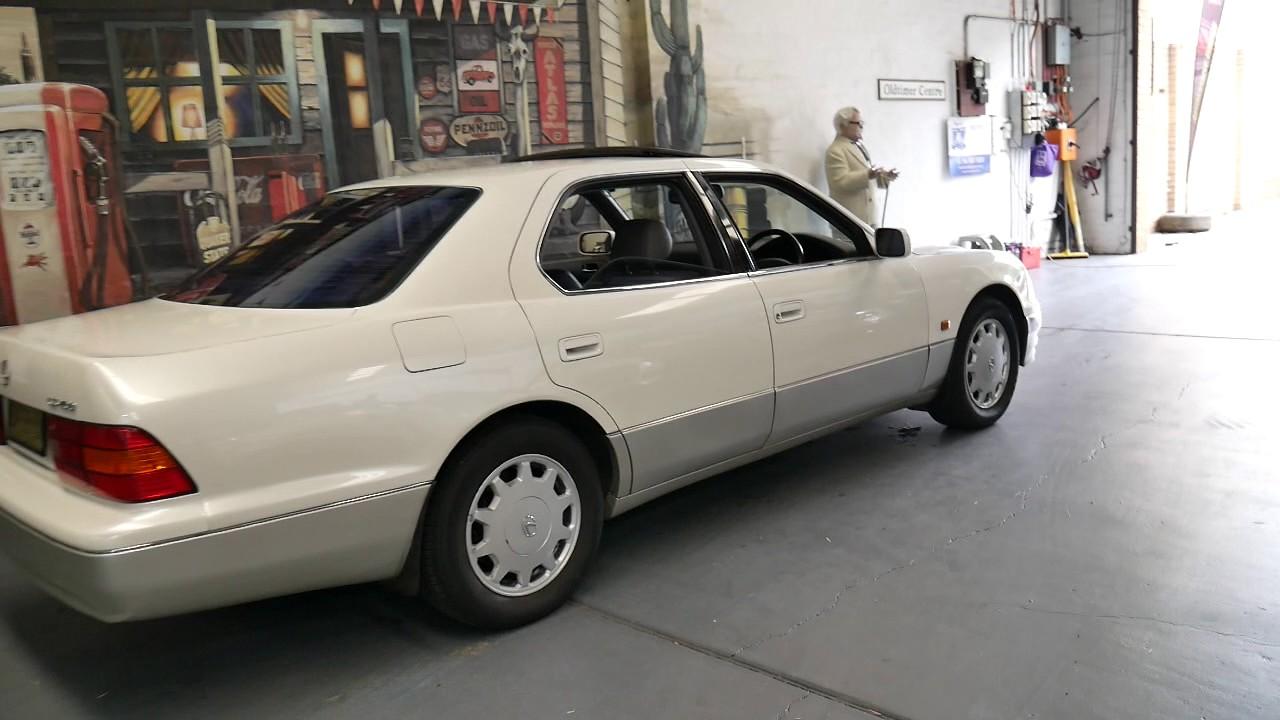 1995 lexus ls400 sedan in lovely condition youtube. Black Bedroom Furniture Sets. Home Design Ideas