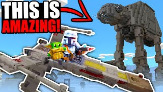The NEW Minecraft Star Wars DLC is actually INSANE!