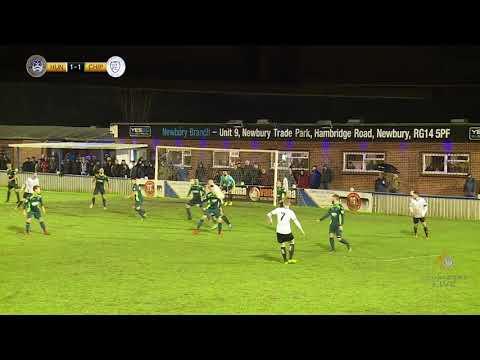 Alex Wall scores the winner | Chippenham Town | National League South | 26.12.17