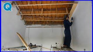 Этот талантливый человек лично отремонтировал старый дом чтобы он стал красивым. Часть 2 завершена