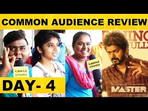 Day 4 : வேற மாதிரி இருக்கு மாஸ்டர் படம்! - Common Audience Review | VIjay , VijaySethupathi | Master
