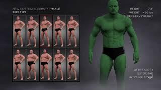 WWE 2K17: How To Create The Hulk (Edward Norton Version) (2008)