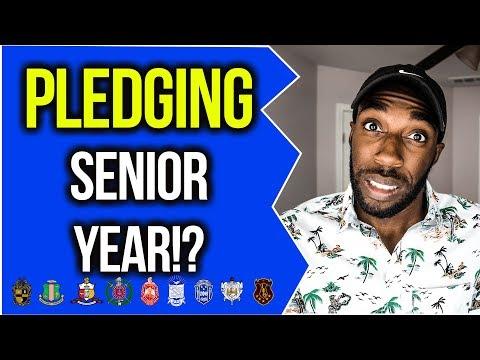 SHOULD YOU PLEDGE SENIOR YEAR OF COLLEGE?! | NPHC ADVICE | COREY JONES