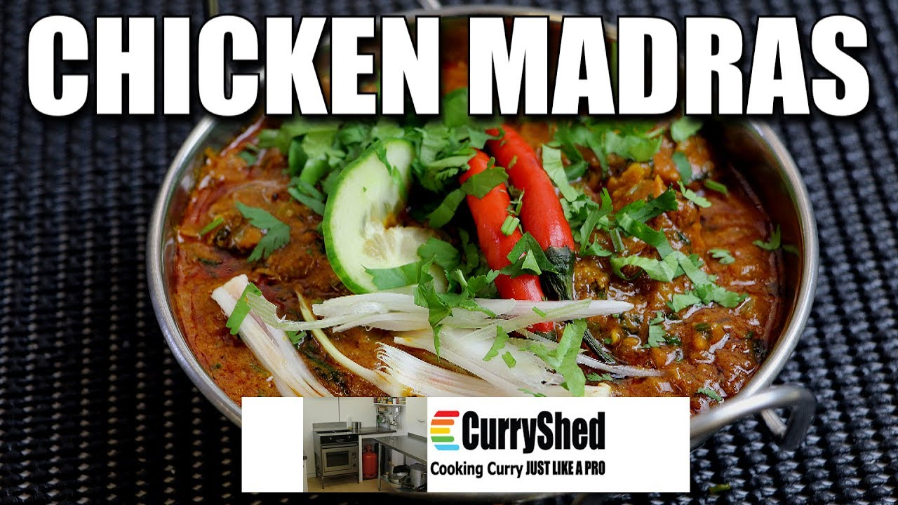 Chicken Madras Curry Easy Style Recipe By Lee Jones Curryshed