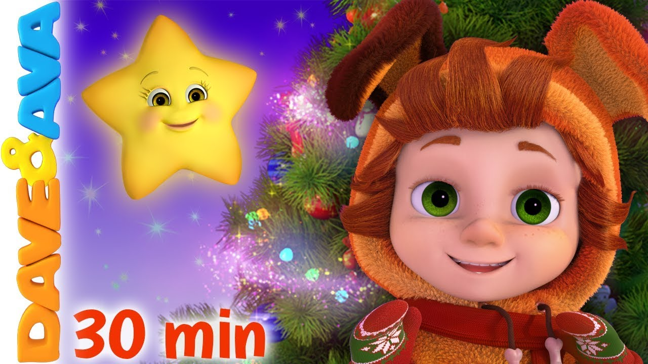 Twinkle Twinkle Little Star Baby Songs Christmas