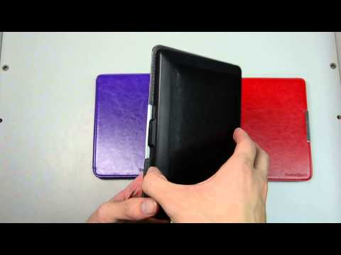 MAGNETIC Slim Case Cover Pouch For PocketBook 622 Touch Book Style