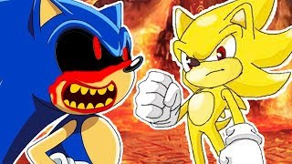 СОНИК X.EXE ПРОТИВ СУПЕР СОНИКА ! - Sonic X.Exe 4 - FINAL