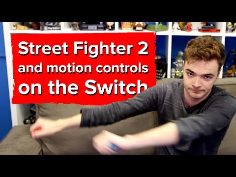 Street Fighter 2 on the Switch really didn't need motion controls - 동영상