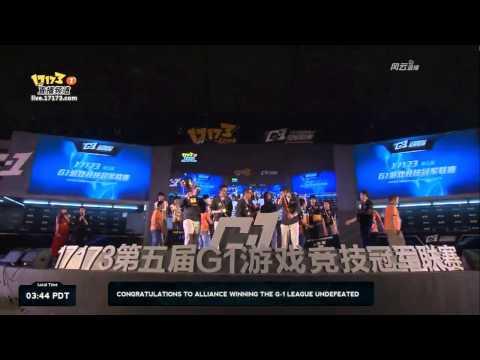 G-1 League 2013 playoffs - Winner's Champagne Ceremony