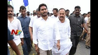 YS Jagan Stops His Padayatra Due to Heavy Rains | YS Jagan Praja Sankalpa Yatra in East Godavari