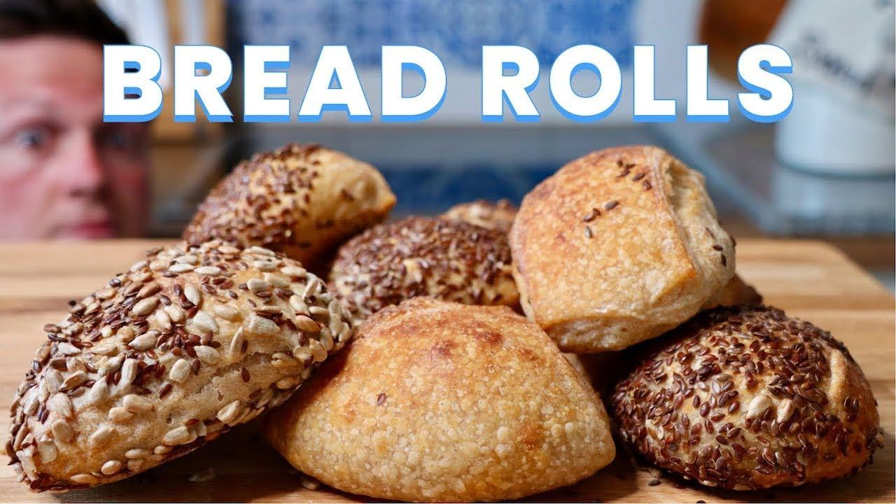 Crisp Soudough Bread Rolls (the way we Germans like them)