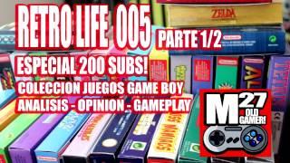 RETRO LIFE 005 - Colección juegos Game Boy - Parte 1 - Especial 200 subs!