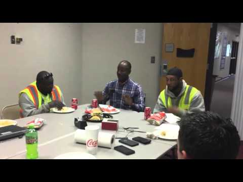 Safety: Living Injury Free Everyday - Five Worker Lunch