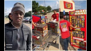 Lil Yachty Goes Crazy On The 4th Of July Buys All The Fireworks In The City