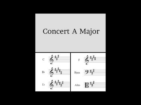 Major Scale Play Along Track