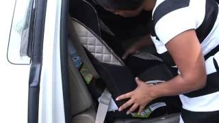 How to secure your car seat