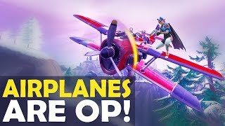 *NEW* META! DAEQUAN AIRPLANES ARE OP! | I HIT THOSE | HIGH KILL FUNNY GAME-(Fortnite Battle Royale)