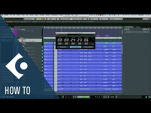 How to Sync Using the SMPTE Generator in Cubase | Q&A with Greg Ondo