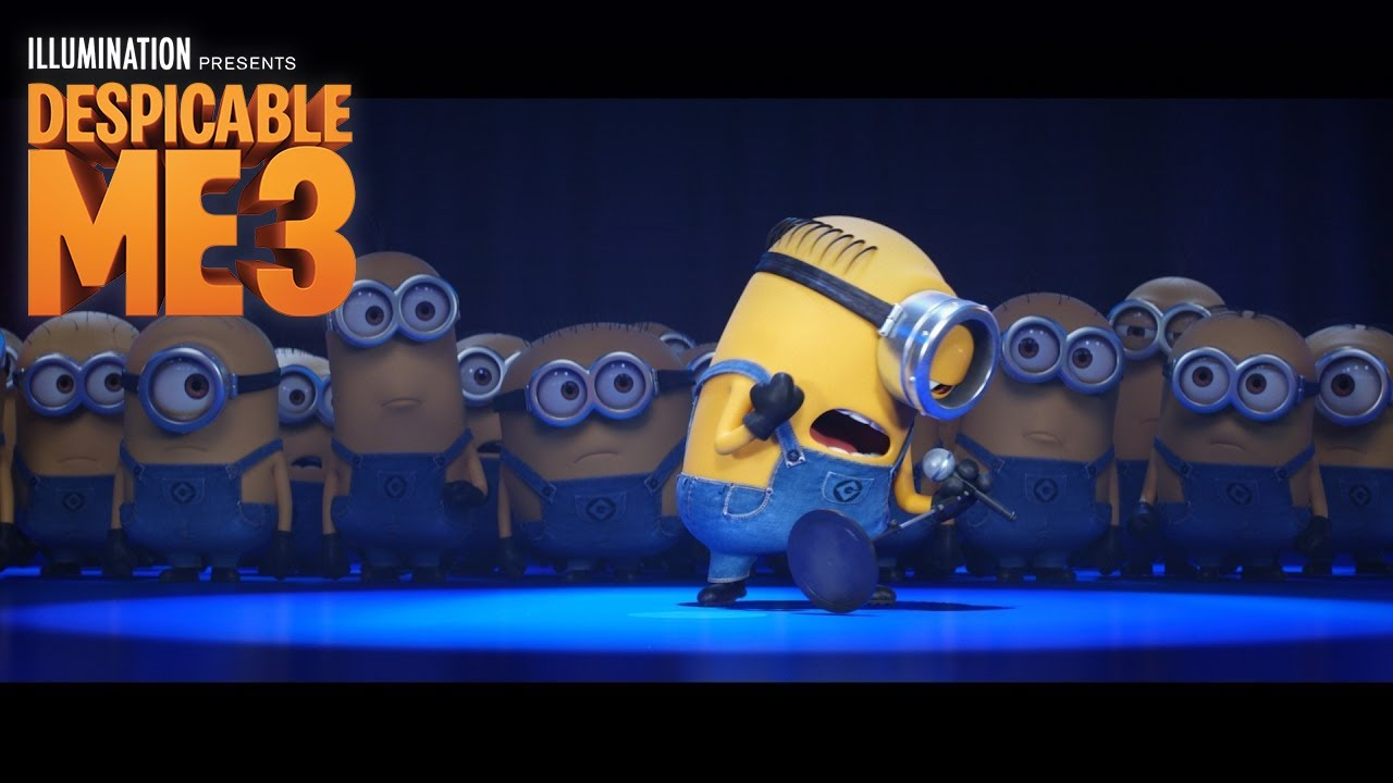 despicable me 3 - in theaters june 30 (minions take the stage) (hd
