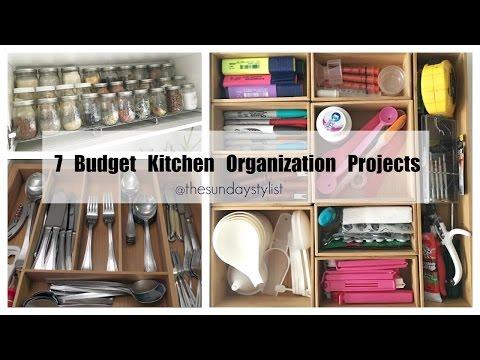 Kitchen Storage & Organization Hacks  || GET ORGANIZED WITH ME