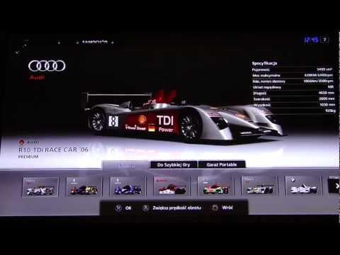 Gran Turismo 5 Le Mans Prototype car list