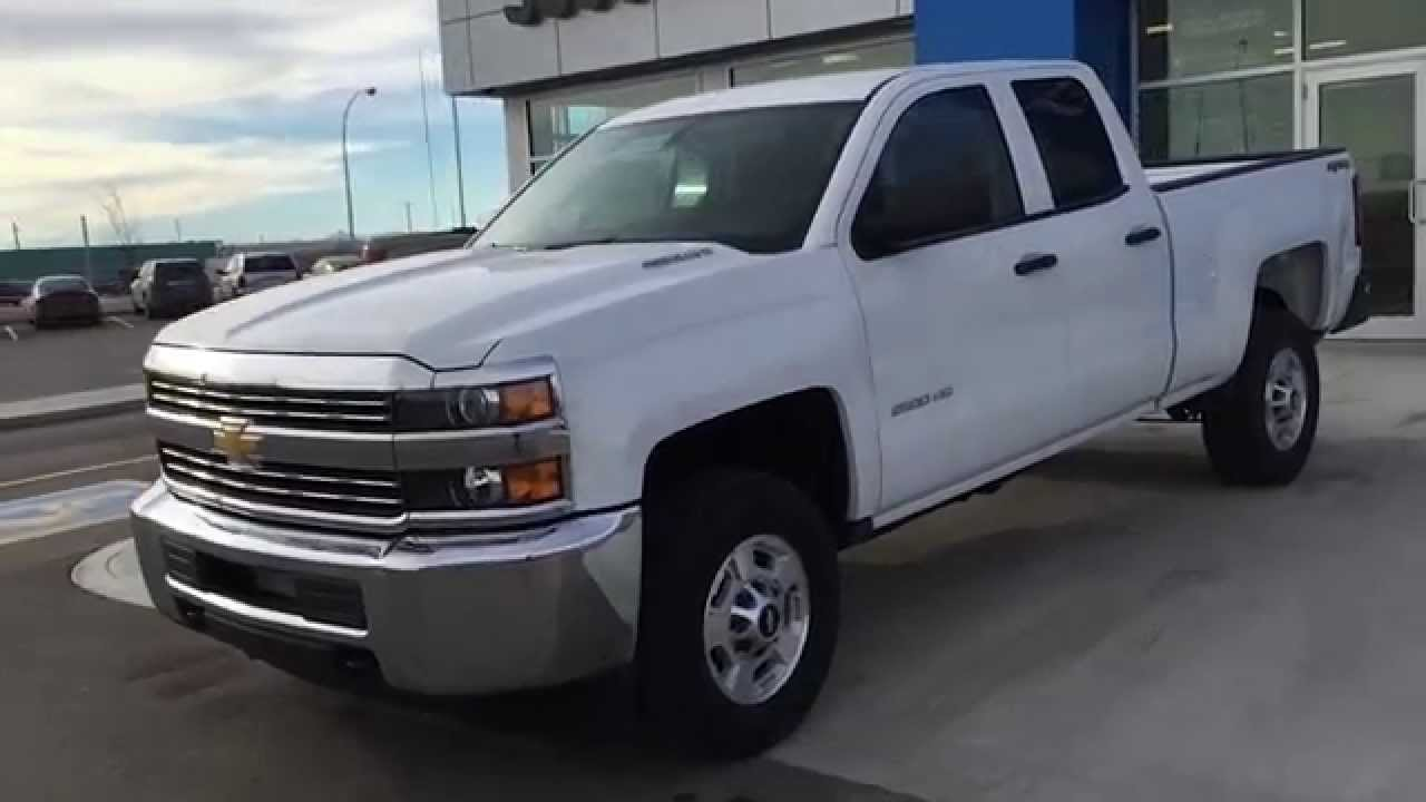 white 2015 chevrolet silverado 2500hd 4wd double cab 143 5 wt at scougall motors in fort. Black Bedroom Furniture Sets. Home Design Ideas