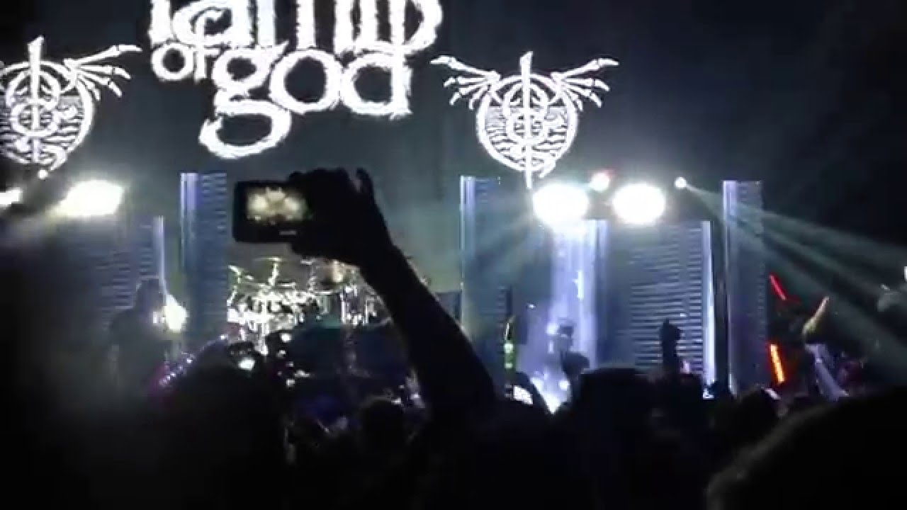 "Lamb of god/ walk with me in hell"" live winter tour 2016 Dallas ... for Lamb Of God Live 2016  555kxo"
