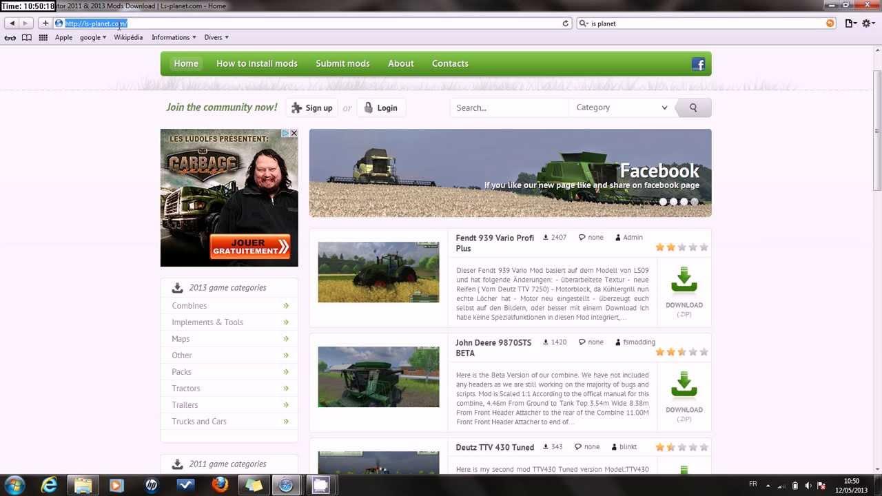 tuto comment mettre des mods sur farming simulator 2013 pc