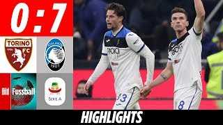 Gosens Volley-Hammer, Ilicic-Dreier & 50-Meter-Kracher | Turin - Atalanta 0:7 | Highlights | Serie A