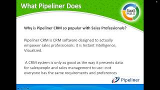 Pipeliner: The World's Most Visual CRM!