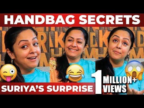 Suriya's Surprise & Jyotika's Handbag Secrets! | Semma Fun Interview | NPA 33