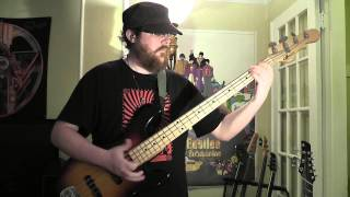 "Daft Punk - ""Around The World"" - Bass Cover"