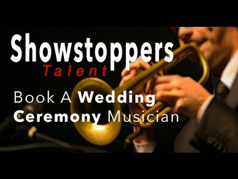 Book Wedding Ceremony Musicians  I  Cincinnati  I SHOWSTOPPERS TALENT