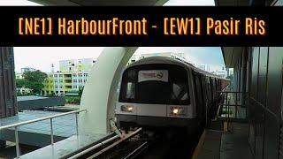 SG MRT Season 3 Ep 11. HarbourFront(NE1) - Pasir Ris(EW1)
