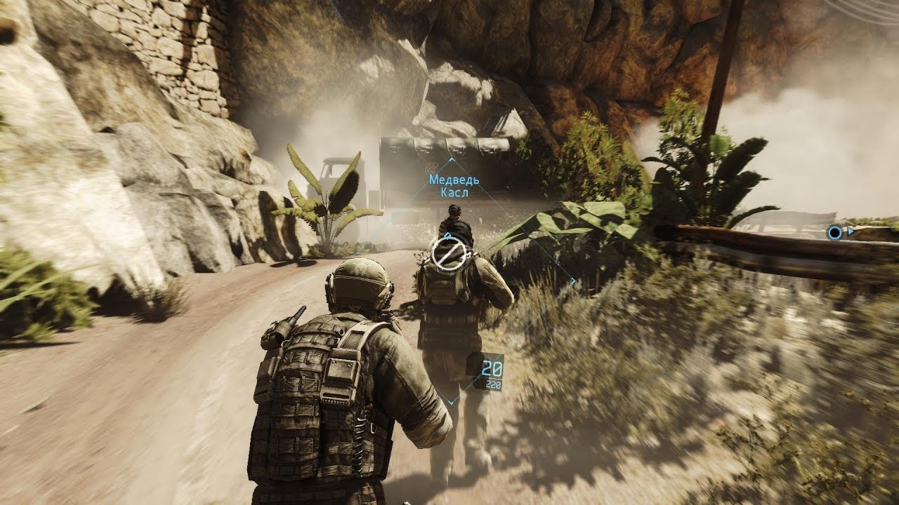 Epic Ambush on Enemy Convoy in Awesome FPS Tom Clancy's Ghost Recon Future Soldier