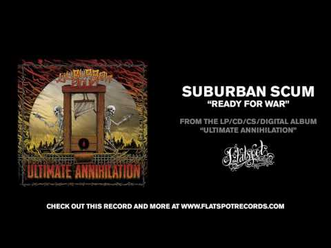 Suburban Scum - Ready For War